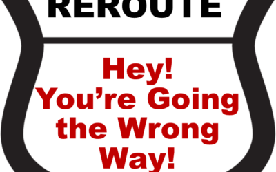 GOD is rerouting you…